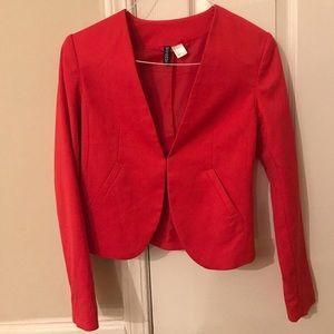 Red Blazer Jacket